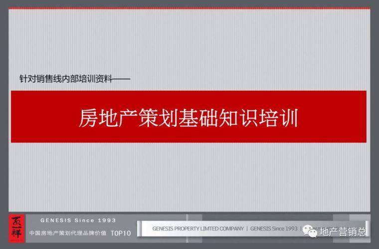 房地产策划基础知识培训!(内部资料!)_2