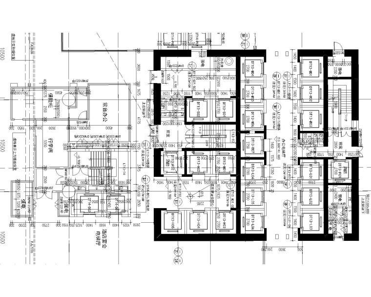 [分享]综合布线系统拓扑图cad资料下载图片