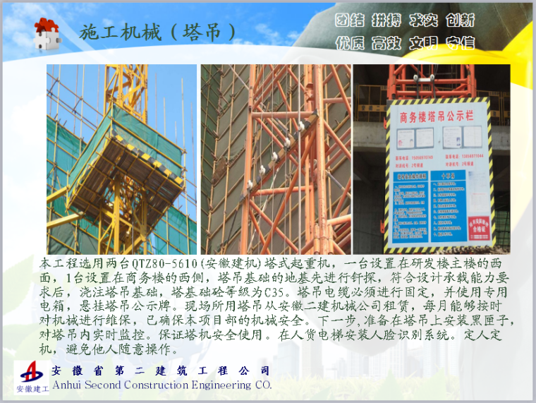 时尚文化园公共服务中心工程安全管理汇报材料_5