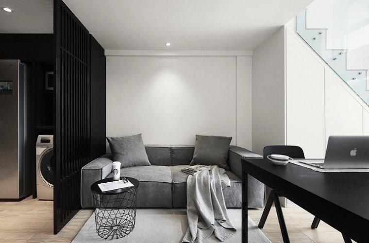高颜值loft双层公寓