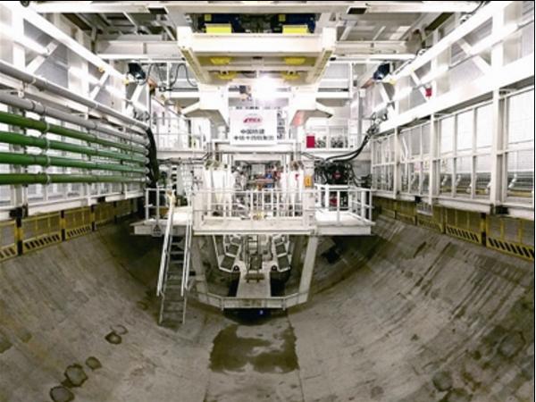 京张高铁清华园隧道盾构掘进,直径12.2米!
