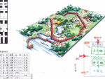 30套临水公园快题手绘设计方案