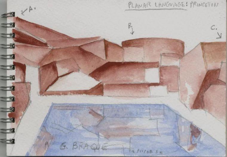 斯蒂文·霍尔在中国的首个作品展,向我们摊开了他个人的手绘本_3