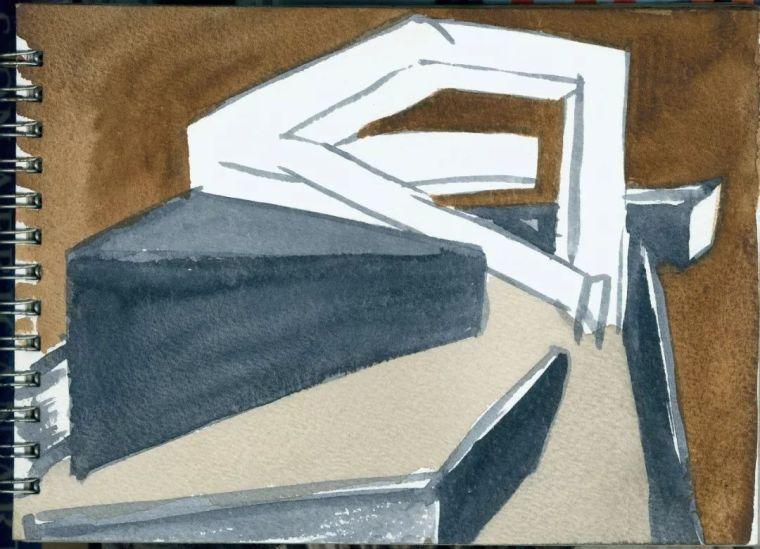 斯蒂文·霍尔在中国的首个作品展,向我们摊开了他个人的手绘本_14