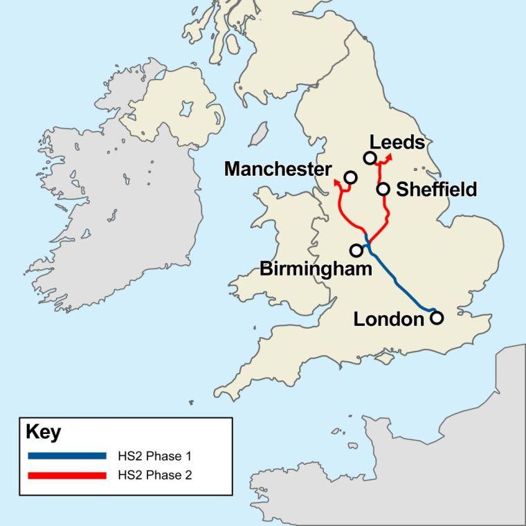 17个月就拆了个废弃站台,英国高铁建设被嘲蜗牛速度