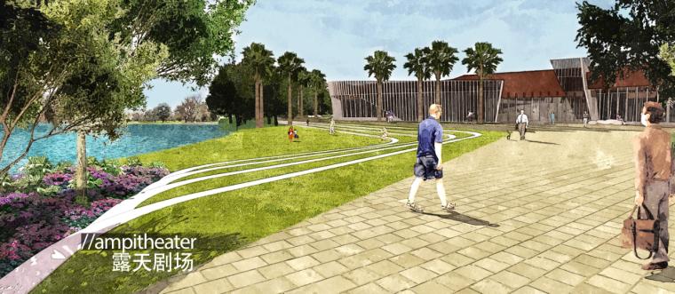 [广东]三亚椰风路项目概念景观设计(PDF+81页)-效果