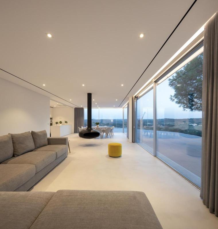 葡萄牙雕塑艺术般写意的住宅-1551071454922553