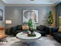 华皓英伦联邦120平三室两厅现代风格
