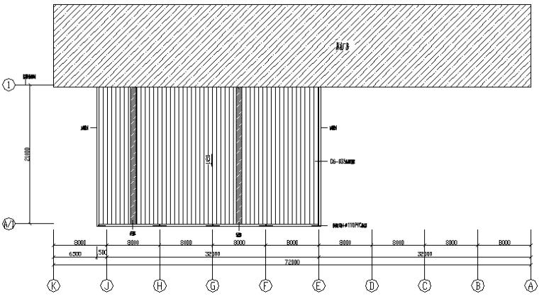 增加附房门式钢屋架结构施工图(CAD,12张)