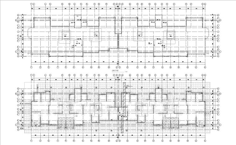 上海闵行高层住宅小区项目全套图纸(建筑、结构、机电)
