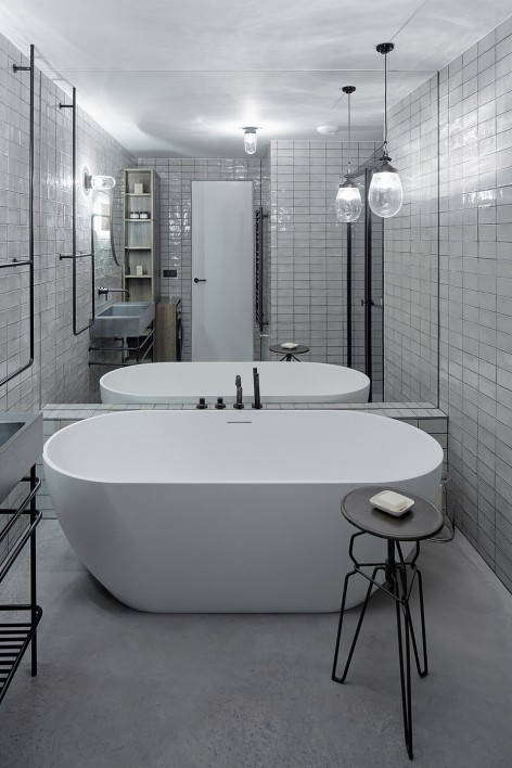 """""""非典型""""工业风-布拉格公寓设计_12"""