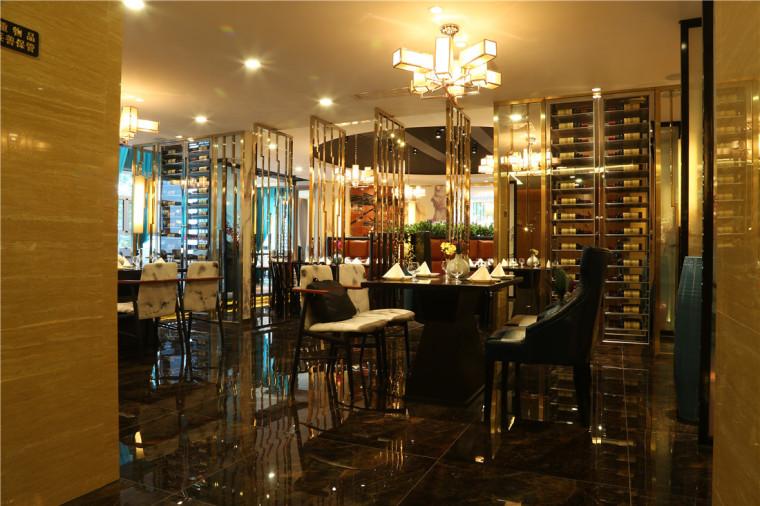 [特色餐厅设计]大连粤食粤点餐厅项目设计实景照片震撼来袭-3.JPG