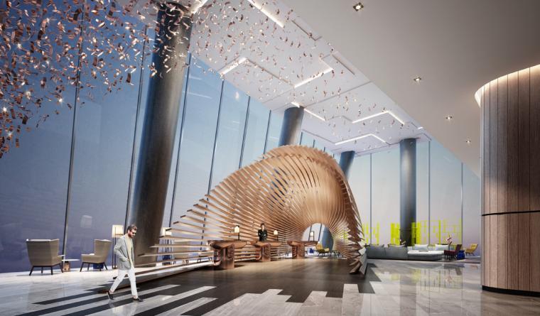 [深圳]BLVD毕路德-汇德大厦铂尔曼酒店设计方案+效果图(PDF+JPG)