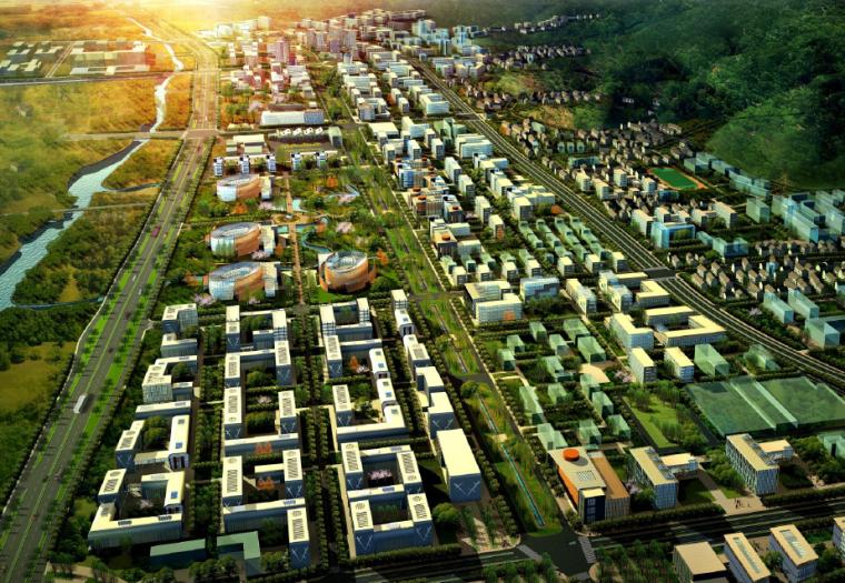 [浙江]浙江大学科技园强园扩园启动区发展规划设计方案文本