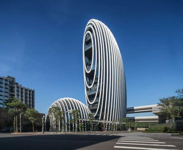 """""""鹅卵石""""灵感的办公大楼,绿色""""低能耗""""的设计构思"""