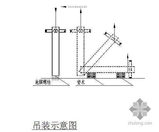 型钢-混凝土劲性柱施工工法