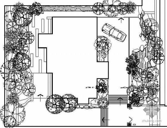 别墅花园景观设计全套图