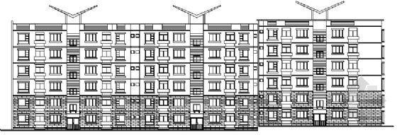 底层商铺住宅楼建施