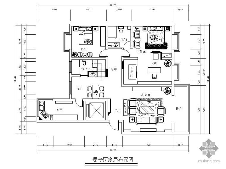 混搭经典复式室内装修图(含效果)