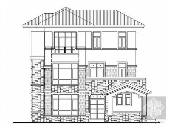 [东莞]三层别墅建筑施工套图