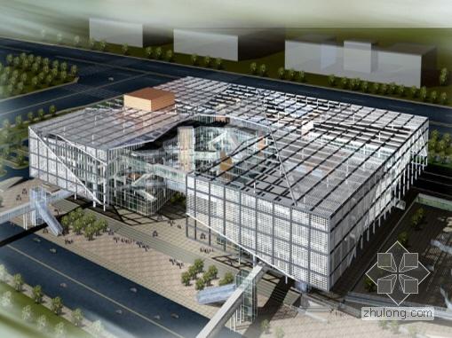 Isuzu汽车博物馆资料下载-[北京]某汽车博物馆建筑设计方案(国际竞赛)-中国
