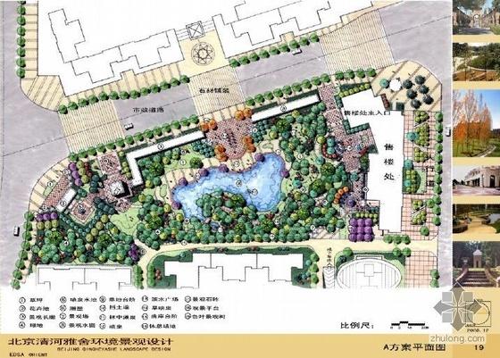 [EDSA]北京某小区景观总平面图