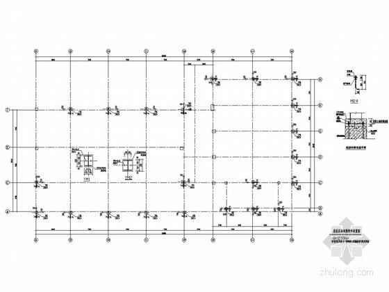 [四川]轻型钢结构屋盖结构施工图