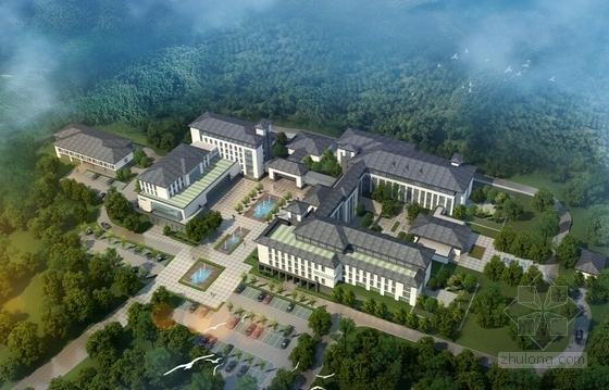 [福建]新中式风格医院规划设计方案文本