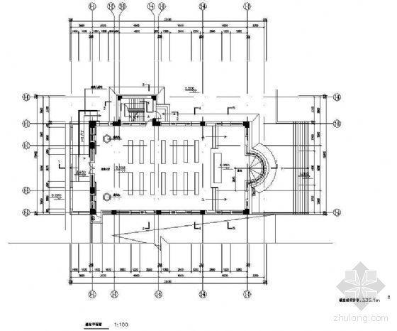某一层欧洲风格教堂建筑方案-2