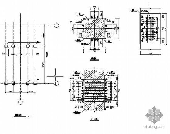 某钢结构雨蓬及连廊结构施工图