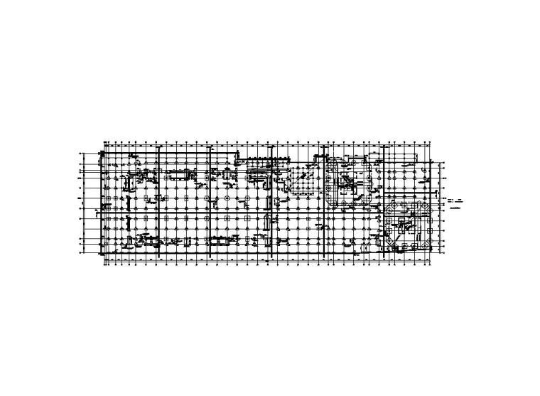 钢筋混凝土结构——商业办公综合楼玻结构施工图
