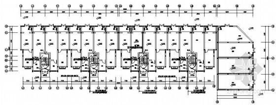 [重庆]拆迁安居房1号楼电气施工图纸