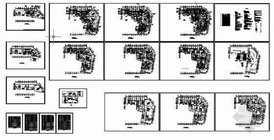 vrv办公楼空调设计资料下载-某办公楼VRV空调设计图纸