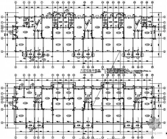连云港某6层砌体结构住宅施工图