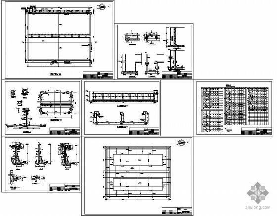 某污水处理厂沉淀池结构图