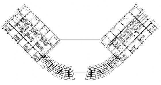 海南写字楼环境全套施工图-3