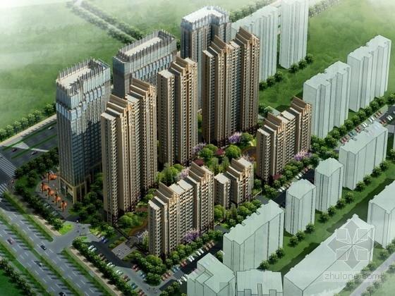 [安徽]某住宅区规划及单体设计方案文本