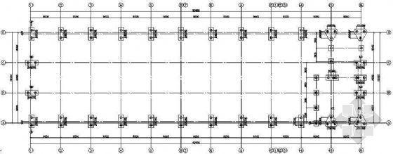 某带吊车的轻钢厂房结构设计图纸