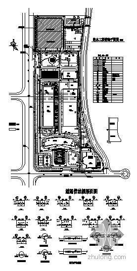 广东某小区室外管线施工图