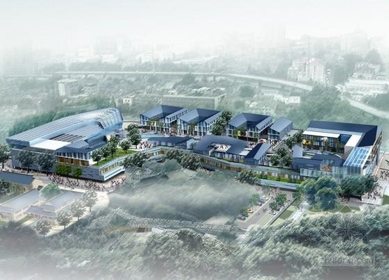 [江苏]大型商业区规划及单体设计方案文本