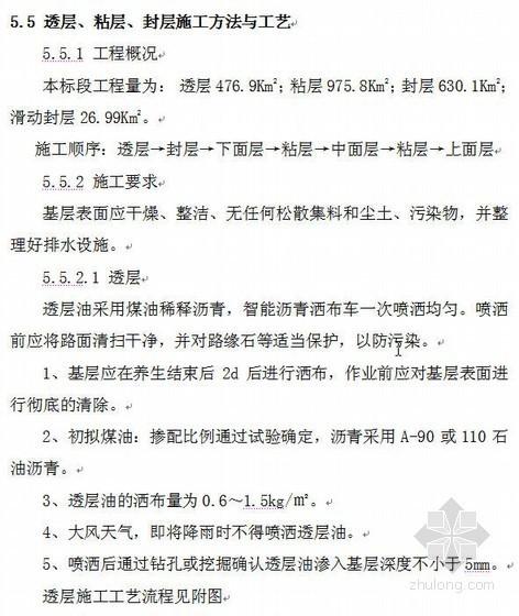 陕西某高速公路路面施工组织设计(实施)