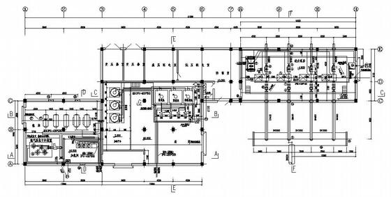 某地表水水厂加药加氯及送水泵房设计图