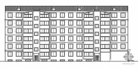[石嘴山]某六层商住楼建筑施工图