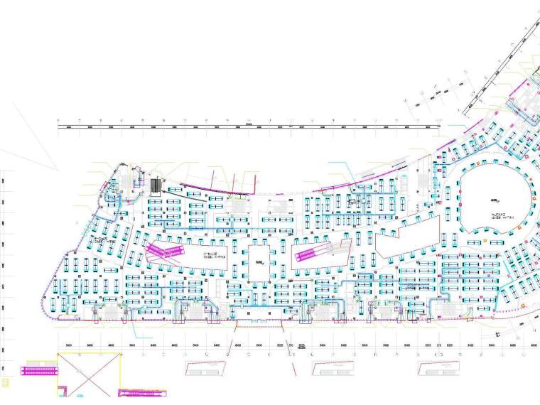 [香港]大型商业中心空调通风及防排烟系统设计施工图(冷热源设计)