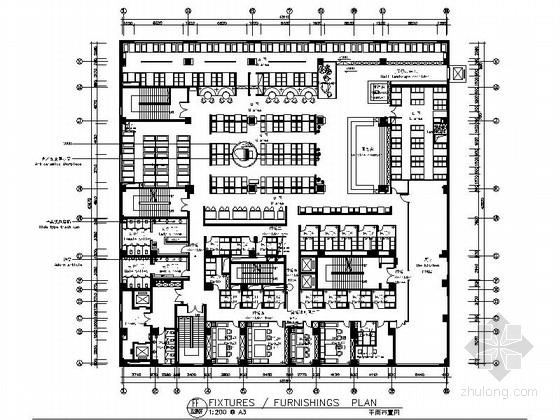 [新疆]充满韵律感的情调西餐厅CAD施工图(含实景照片)