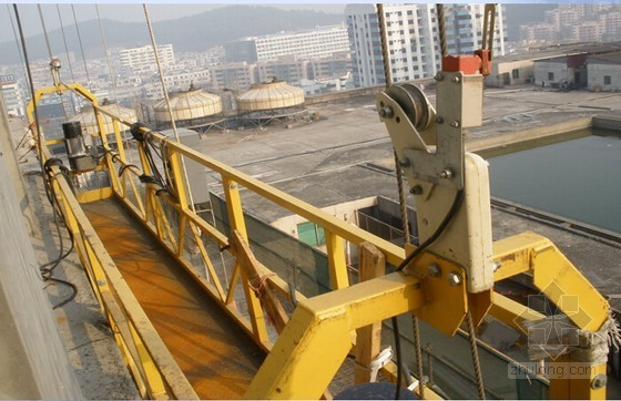 现场吊篮施工安全管理方法及隐患专项培训讲义85页PPT(知名企业内部资料)