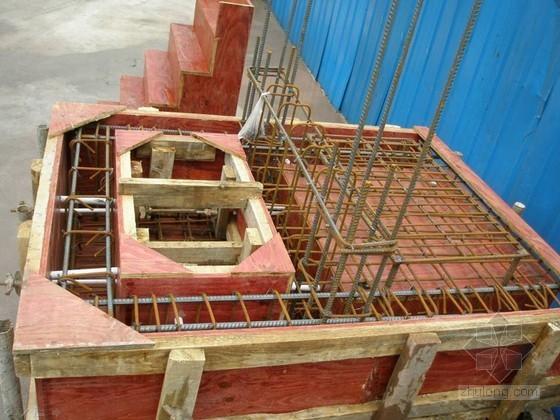 建筑工程结构施工实物样板制作实例照片展示