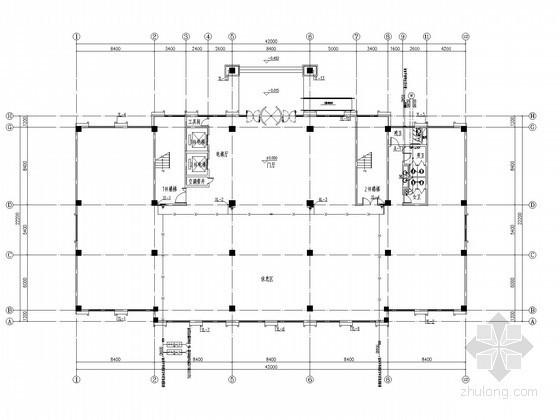 [安徽]游乐园三层建筑给排水施工图