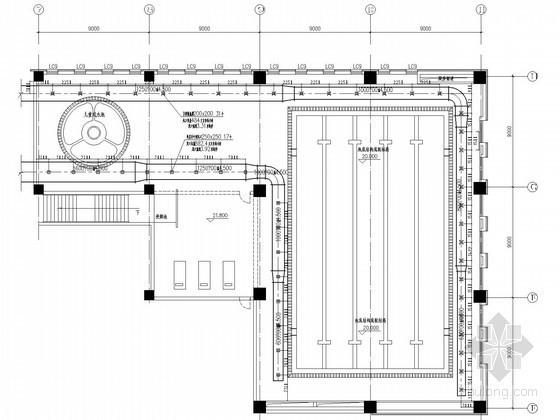 [西安]游泳池除湿及水处理设计初步图纸(含计算书)