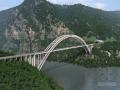 [湖北]主跨519m全推力中承式钢箱桁架拱桥两阶段施工图设计531页(无铰拱)